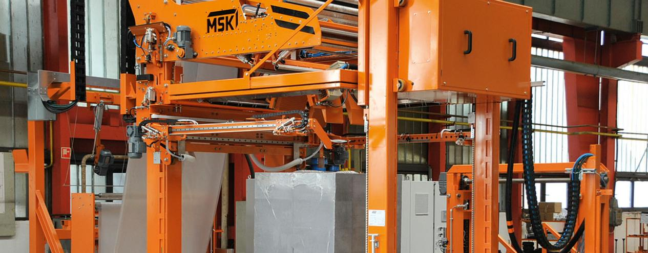Picture of MSK Pallet Shrink Wrap machine